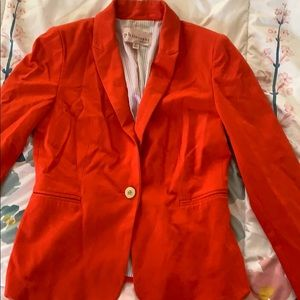 Orange Philosophy Blazer size Small